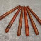 Lots of 6 Wooden Thai Reflexology Massage Tool Stick Foot