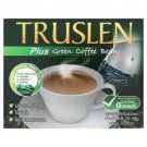 Truslen Instant Coffee Powder Plus Green Coffee Bean Extract 160g. (16g.x10 Sticks) - Pack of 2
