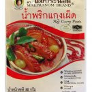 Thai Red Curry Paste 50g Mae Pranom Brand