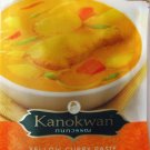 Yellow Curry Paste 50g Kanokwan Brand - Product of Thailand