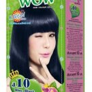 Just Modern Colourful WOW Hair Color Permanent Hair Cream Dye Blue Black J10..