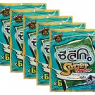 Seleco Super Big Bite Japanese Soy Sauce Flavour Crispy Seaweed 5 x 50g Packs Net - Thai Snack