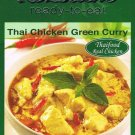 Thai Chicken Green Curry Ready Made meal RozSiam Brand