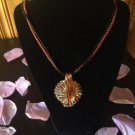 Copper, Black and Gold Necklace