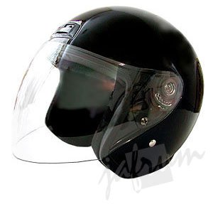 20Black - DOT Motorcycle Scooter Helmet