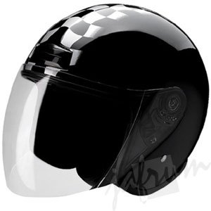 20RaceDay - DOT Motorcycle Scooter Helmet