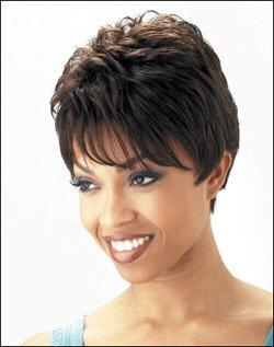 Human Hair Wig Short  HJ 202