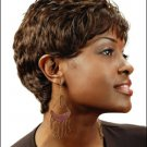 Human Hair Wig Short  HJ  760