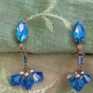 ANTIQUE LEWIS SEGAL AB DANGLE EARRINGS (DES105)