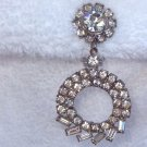 ANTIQUE JUDY LEE RHINESTONE DROP EARRINGS (DES99)