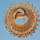 TRADITION SIGNED SUNBURST BROOCH (P2)