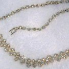 ANTIQUE ART DECO RHINESTONE NECKLACE (N28)
