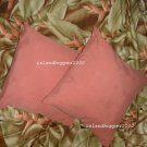 Tommy Bahama Set of 2 Monaco Palm Silk Pillows