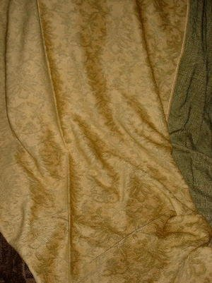 Donghia Gold Morgane Chenille Tapestry Fabric