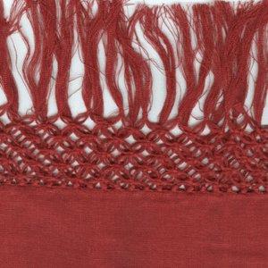 Tommy Bahama Fishnet Linen Sham Blossom Red