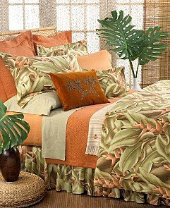 Tommy Bahama Gingerleaf Queen Duvet