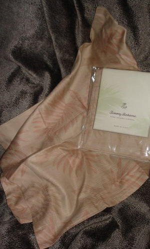 Tommy Bahama Island Etching Queen Bed skirt