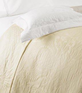 Set of 2 Sferra Geneva Standard Shams Ivory