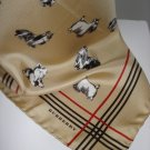 Burberry !00% Silk Dog Scarf