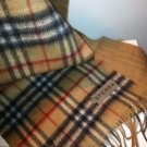 Sferra Classic Plaid Wool Scarf