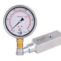 G Series Glycerin Filled Hydraulic Pressure Gauge