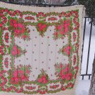 Floral Vintage Pure Wool Scarf White Ukrainian, Russian Floral Scarf, white shawl, white USSR Shawl,