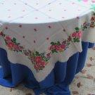 Vintage Ukrainian shawl, Floral Scarf, head scarf, white shawl, wedding shawl, bride gift, wedding s