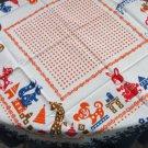 Polka dots shawl,  Floral cotton sheer shawl,  White kids Ukrainian shawl, Vintage sheer shawl wrap,