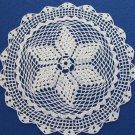 Crochet cotton lace, Crochet lace napkin, Cotton USSR napkin, Cotton lace doilies, Table doily, Vint