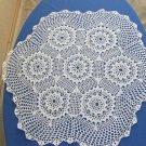 Crochet cotton lace, USSR lace napkin, Cotton lace napkin, Vintage Cotton lace doilies, Table doily,