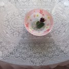 Pink Tablecloth, Polyester Tablecloth, Pink Polyester Table Throw, Pink Table Runner for Home Decor,
