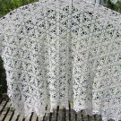 Crochet Tablecloth Handmade, 100% Cotton Tablecloth, Crochet Table Throw, Table Runner for Home Deco