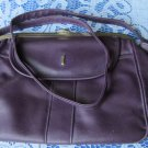 Leatherette Purple Vinyage Bag, Leatherette Purple Bag, iPad Bag, Vegan Leather Bag, Faux Leather Ba