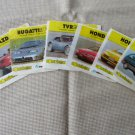 """Vintage Gum Wrappers with Cars pictures, BomBimBom old wrappers, vintage """"""""bycan"""""""" wrappers, Bublegu"""