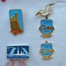 USSR Sport and Tourism badges, Badge, Soviet Vintage metal collectible pin, Made in USSR