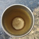 Vintage Metal Cup, USSR Mug Rustic Home Decor, Soviet Retro Stopka, Vintage Tableware, Army Vodka Cu