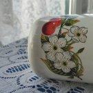 Vintage small milk enamel mug, White small enamelware, Enamel metal camping cup, Rustic milk mug, Me