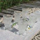 Vintage Six Set Cut Crystal Stemware, Vintage Wine Coup, Lead Crystal, Wedding Toast, Stemware, Crys