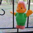 USSR Karlson vintage plastic toy, USSR vinytage plastic toy, Green karlson, Sweeden folklore toy, Sw