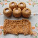 Salmon Crochet Knitting Thread Skeins 100% Cotton, 5 Knitting supplies, Knitting supplies, Knitting