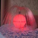 "Rare Vintage USSR """"Hair"""" Lamp with shiny endings, Christmas gift decor idea, Vintage kids lamp, Ki"