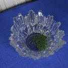 Glass cookie jar, Meteorite Key Plate, Vintage Hge Punch Bowl Falling Star Shaped, Salad plate on st