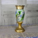 USSR Green colored Abstract Vase/Trophy Gift Decor, Tall Sport Cup For 1st Place, USSR Sport Vase De