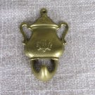 Golden Colored Tea Pot Hinge For Kitchen/Living Room Decor, Great Brass Decor Hook, Golden Colored K