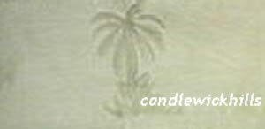 NIP Tommy Bahama Monaco Palm Bed Skirt Panels-Queen-Aloe