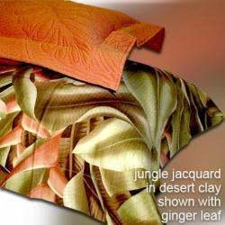NIP Tommy Bahama Ginger Leaf Twin Sheet-Fitted