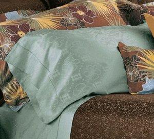 New Tommy Bahama  Ikat Pillow Sham-Boudoir-Horizon
