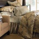 New Sferra Athena Pillow Sham-Boudoir-Chocolate