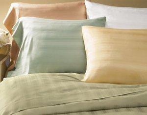 New Sferra Logan Pillow Sham-Sea Mist-Boudoir
