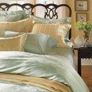 Sferra Darcy Pillow Sham-Sea Mist-Boudoir